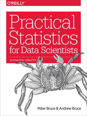 cover image of Practical Statistics for Data Scientists