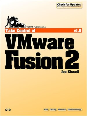 cover image of Take Control of VMware Fusion 2
