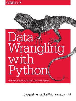 cover image of Data Wrangling with Python