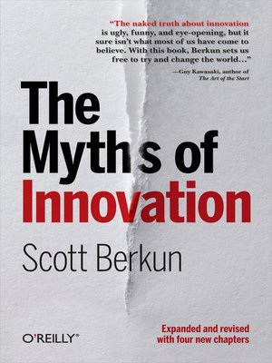 cover image of The Myths of Innovation
