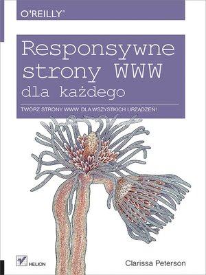 cover image of Responsywne strony WWW dla ka_dego