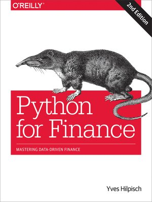 cover image of Python for Finance