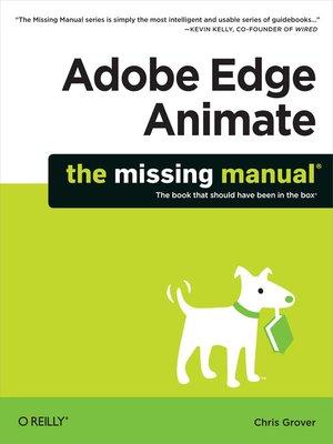 cover image of Adobe Edge Animate