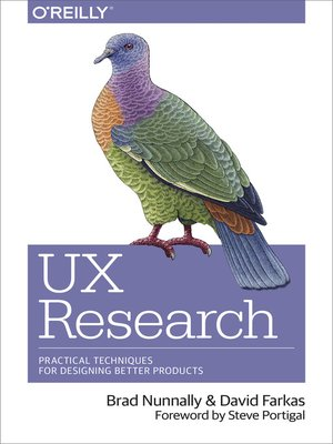 cover image of UX Research