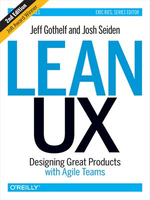 cover image of Lean UX