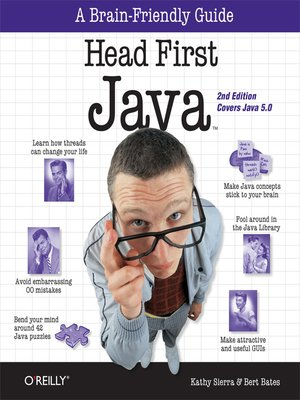 cover image of Head First Java