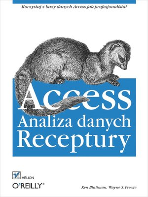 cover image of Access. Analiza danych. Receptury