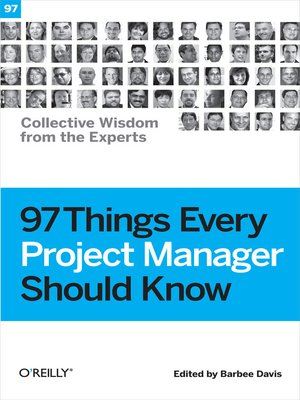 cover image of 97 Things Every Project Manager Should Know