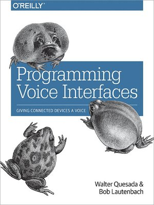 cover image of Programming Voice Interfaces