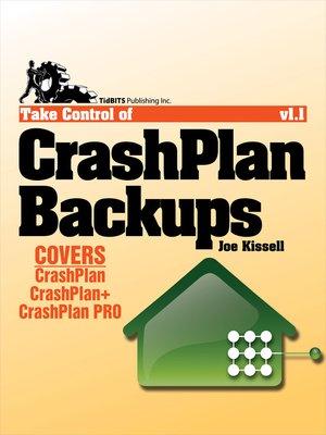 cover image of Take Control of CrashPlan Backups