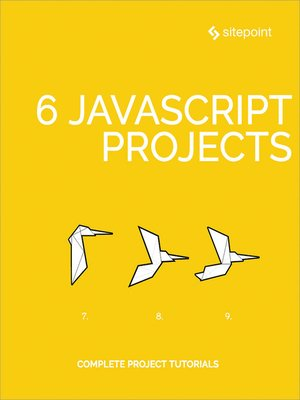 cover image of 6 JavaScript Projects