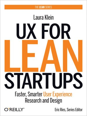 cover image of UX for Lean Startups