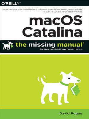 cover image of macOS Catalina