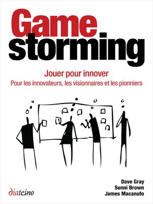 cover image of Gamestorming--Jouer pour innover