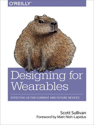 cover image of Designing for Wearables