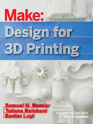 cover image of Make - Design for 3D Printing