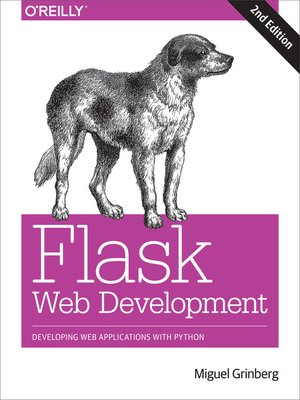 cover image of Flask Web Development