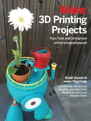 cover image of Make - 3D Printing Projects