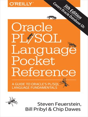 cover image of Oracle PL/SQL Language Pocket Reference