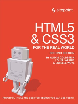 cover image of HTML5 & CSS3 For the Real World