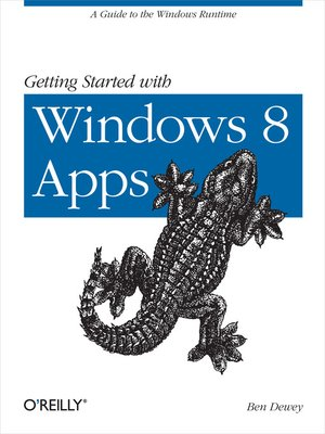 cover image of Getting Started with Windows 8 Apps