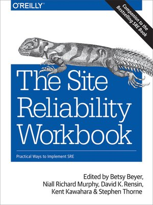 cover image of The Site Reliability Workbook