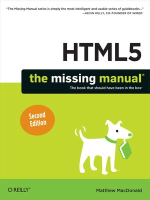 cover image of HTML5