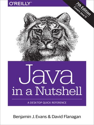 cover image of Java in a Nutshell