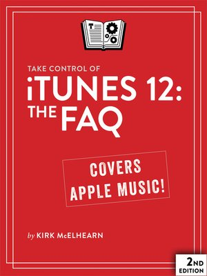 cover image of Take Control of iTunes 12