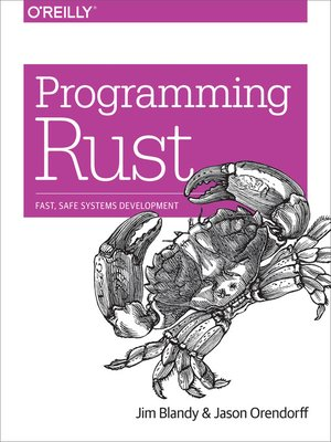 cover image of Programming Rust