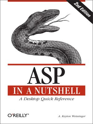 cover image of ASP in a Nutshell