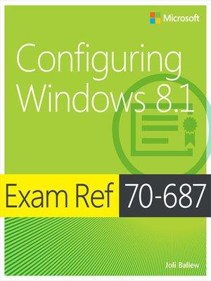 cover image of Exam Ref 70-687