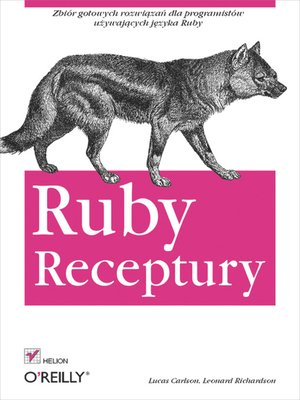 cover image of Ruby. Receptury