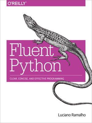cover image of Fluent Python