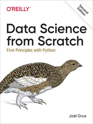 cover image of Data Science from Scratch