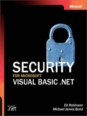 cover image of Security for Microsoft® Visual Basic® .NET