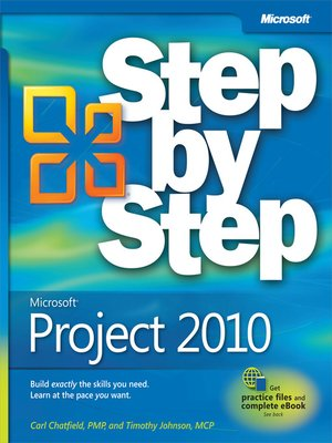 cover image of Microsoft® Project 2010 Step by Step