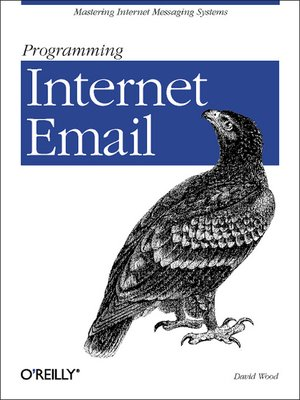 cover image of Programming Internet Email