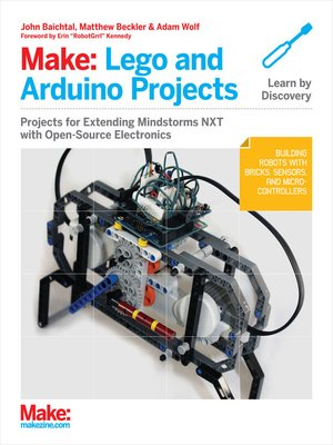cover image of Make: Lego and Arduino Projects
