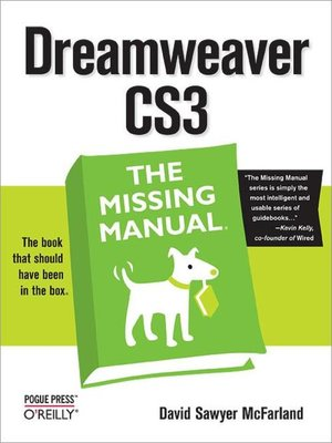 cover image of Dreamweaver CS3
