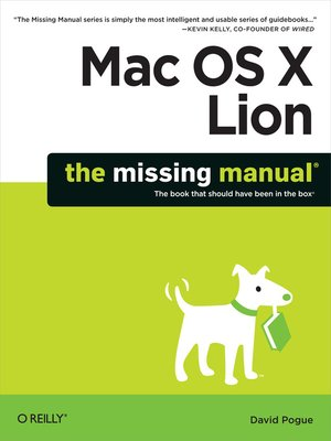 cover image of Mac OS X Lion