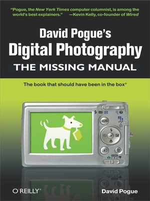 cover image of David Pogue's Digital Photography