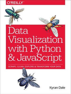 cover image of Data Visualization with Python and JavaScript