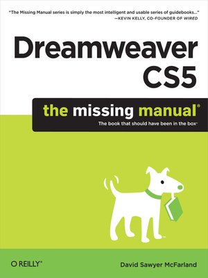 cover image of Dreamweaver CS5