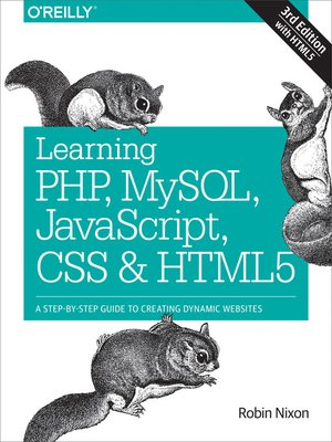cover image of Learning PHP, MySQL, JavaScript, CSS & HTML5