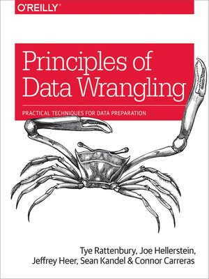 cover image of Principles of Data Wrangling