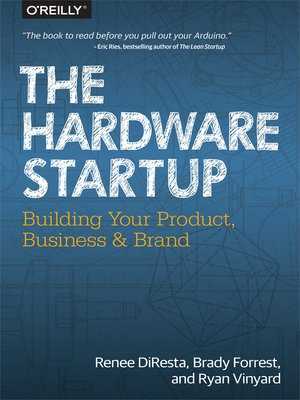 cover image of The Hardware Startup