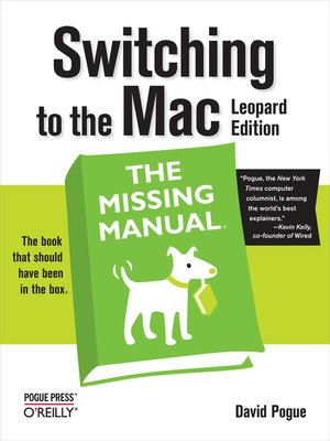 cover image of Switching to the Mac