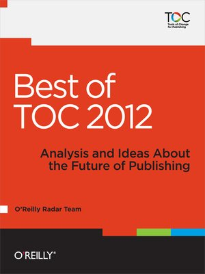 cover image of Best of TOC 2012