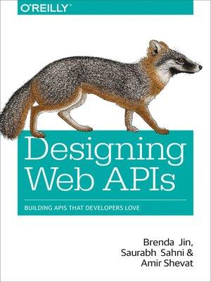 cover image of Designing Web APIs